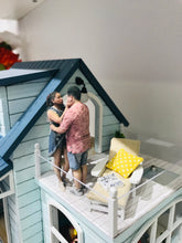 "Load image into Gallery viewer, DIY Miniature Dollhouse Kit ""Caribbean Sea"" - Scale 1:24"