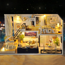 "Load image into Gallery viewer, DIY Miniature Dollhouse Kit ""Valencia Coast"" - Scale 1:24"