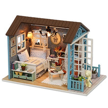 Load image into Gallery viewer, Doll House DIY Miniature Dollhouse Model Wooden Toy Furnitures Casa De Boneca Dolls Houses Toys For Childred Birthday Gift Z007