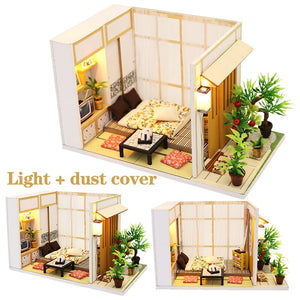 "DIY Miniature Dollhouse Kit ""Japanese Room"" - Scale 1:24"