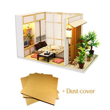 "Load image into Gallery viewer, DIY Miniature Dollhouse Kit ""Japanese Room"" - Scale 1:24"