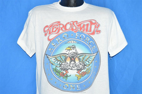 adc77b1d Today for T-Shirt Tuesday we present this Garth Algar approved Aerosmith t- shirt from their 1988 Aero Force One Tour! The shirt's become a kind of  cult ...