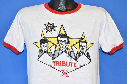 80s Buddy Holly Tribute X Mad Hatter Concert t-shirt Medium