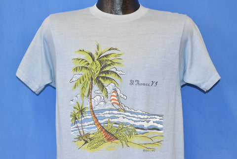 70s Saint Thomas Virgin Islands Beach Wave t-shirt Medium