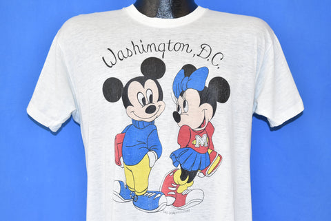 80s Mickey Minnie Mouse Washington DC t-shirt Medium