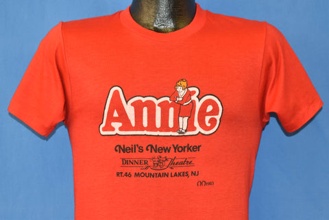 80s Annie at Neil's New Yorker t-shirt Small