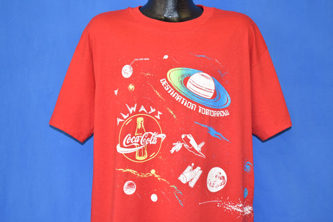 90s Coca-Cola NWNM Science Fair '95 t-shirt Extra Large