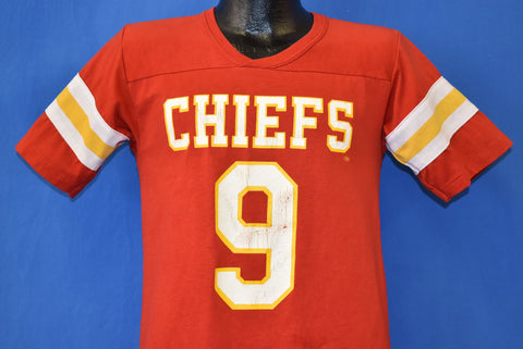 80s Kansas City Chiefs Bill Kenney #9 t-shirt Small