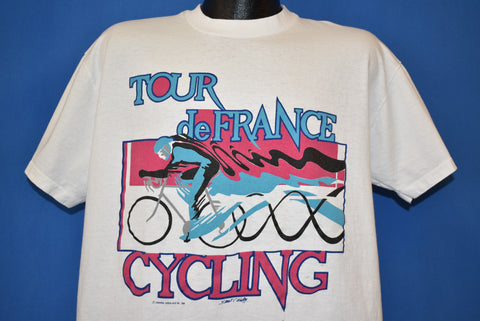 90s Tour De France Bike Race t-shirt Extra Large