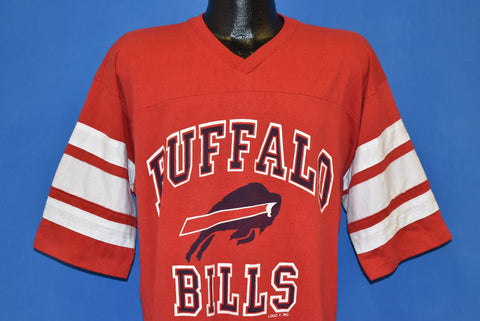 80s Buffalo Bills Logo 7 Jersey Style t-shirt Extra Large