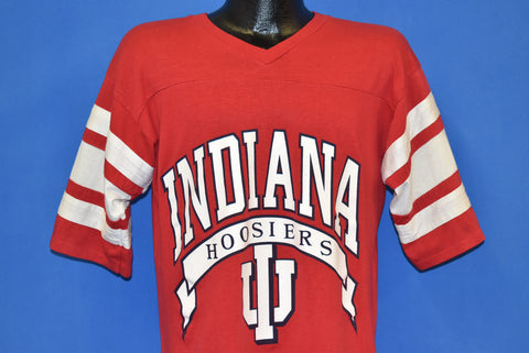 80s Indiana Hoosiers V-Neck Jersey t-shirt Large