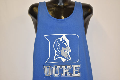 80s Duke University Blue Devils Tank Top t-shirt Extra Large