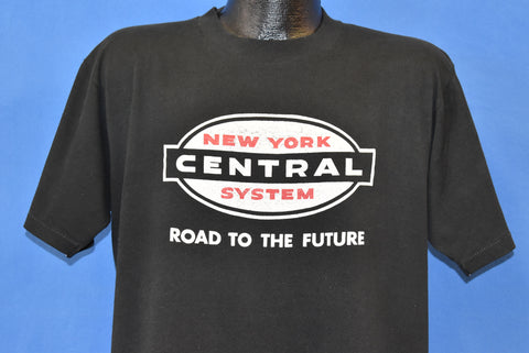 80s New York Central Road To The Future t-shirt Extra Large