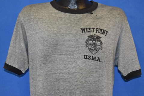 80s West Point US Military Academy Distressed t-shirt Large