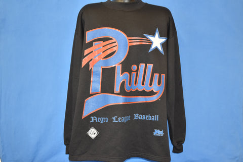 90s Philadelphia Stars Negro League Baseball Sweatshirt Extra Large