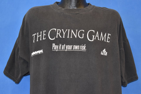 90s The Crying Game Play At Your Own Risk t-shirt 3XL