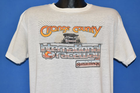 80s Orange County International Raceway t-shirt Large