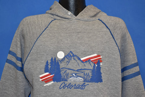 80s Colorado Rocky Mountains Tourist Sweatshirt Large