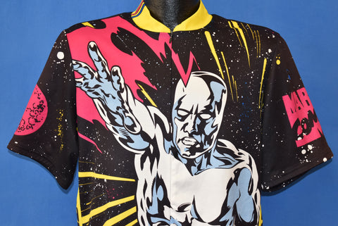 90s SIlver Surfer Cycling Jersey t-shirt Extra Large