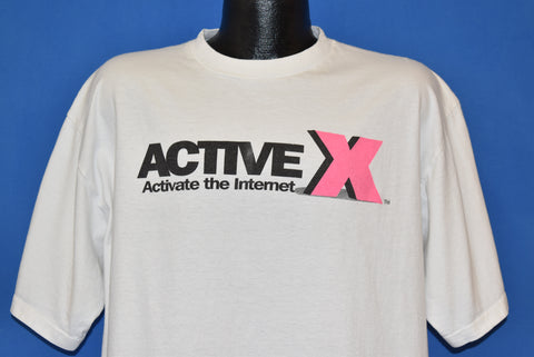90s ActiveX Activate The Internet t-shirt Extra Large