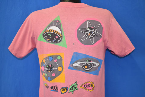 90s Maui And Sons Surf Shop Outer Space t-shirt Medium