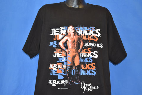 90s WCW Chris Jericho Jericoholics t-shirt Extra Large