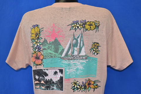 80s Hot Sessions Mountain Vacation Pocket t-shirt Large