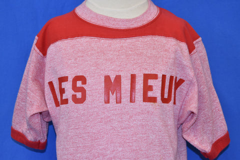 80s Les Mieux Tonite Jersey Style Ringer t-shirt Youth Large