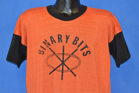 70s Binary Bits Digital Computer Jersey Large