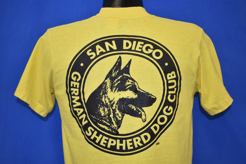 70s German Shepherd Dog Club San Diego t-shirt Medium