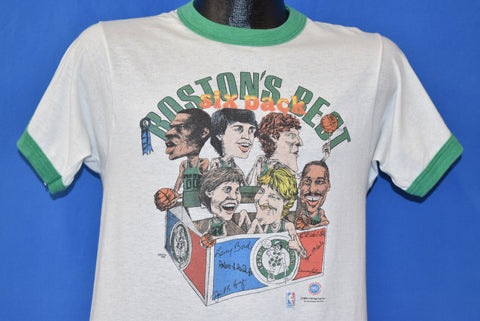 80s Boston Celtics Boston's Best Six Pack t-shirt Medium