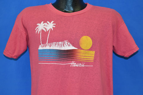 80s Hawaii Sunset Tourist t-shirt Large