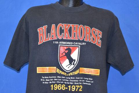 80s Blackhorse 11th Armored Cavalry t-shirt Extra Large