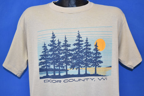 80s Door County Wisconsin Tourist t-shirt Extra Large