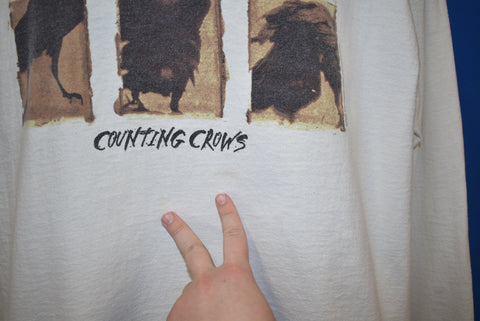 90s Counting Crows Long Sleeve t-shirt Extra Large