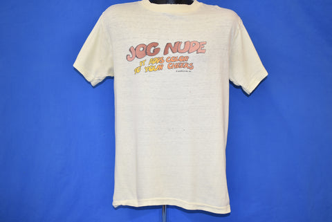 70s Jog Nude It Adds Color To Your Cheeks t-shirt Medium