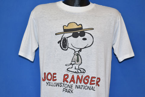 80s Snoopy Joe Ranger Yellowstone Tourist t-shirt Large