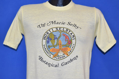80s Marie Selby Botanical Gardens t-shirt Small