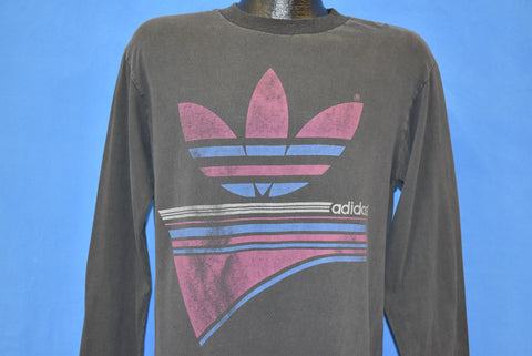 90s Adidas Trefoil Long Sleeve t-shirt Large