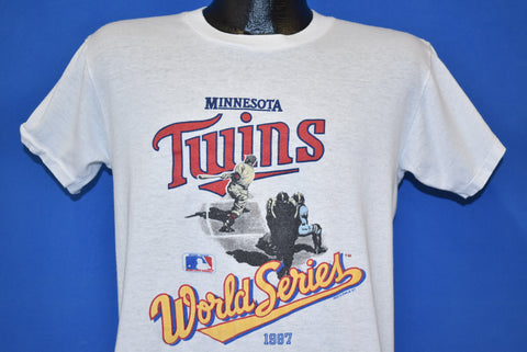 80s Minnesota Twins World Series Champs 87 t-shirt Medium