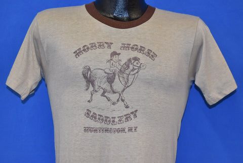 80s Hobby Horse Saddlery NY Ringer t-shirt Small