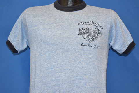 80s Mount Whitney Lone Pine Ringer t-shirt Small