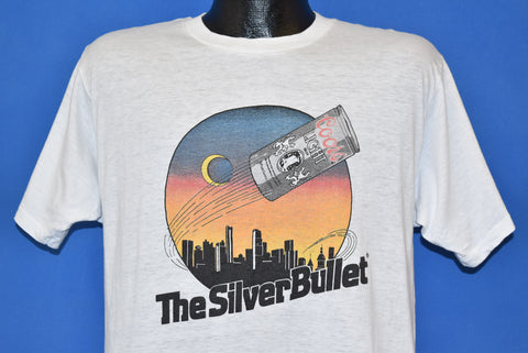 80s Coors Light The Silver Bullet t-shirt Medium