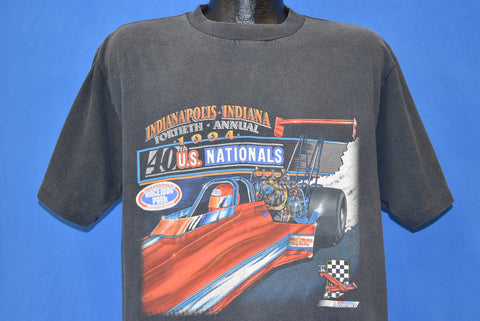 90s NHRA 1994 US Nationals t-shirt Large
