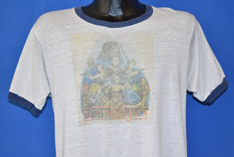 80s Star Wars Return of the Jedi Distressed t-shirt Large