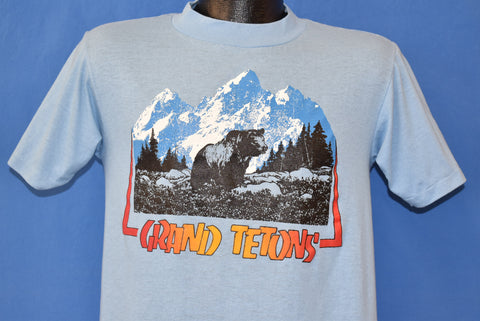 80s Grand Tetons Wyoming Tourist t-shirt Medium