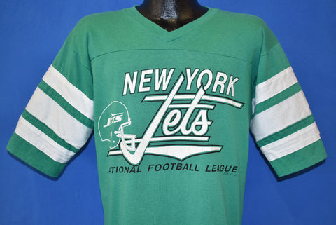 80s New York Jets Logo 7 Jersey t-shirt Medium