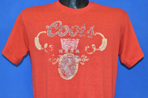 80s Coors Banquet Beer Distressed t-shirt Medium