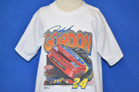 90s Jeff Gordon NASCAR Racing t-shirt Youth Small