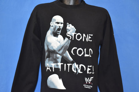 90s WWF Stone Cold Steve Austin t-shirt Youth Extra Large